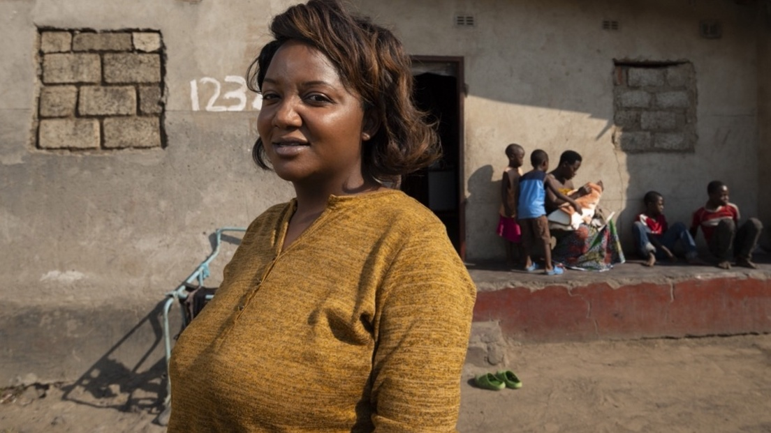 Muzalema Mwanza, entrepreneur and activist. Image credit: Safe Motherhood Alliance